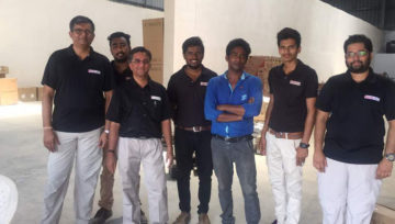 First Warehouse Inspection at Mumbai
