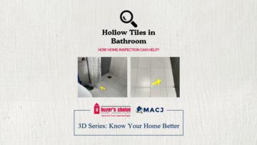 Hollow Tiles in Bathroom