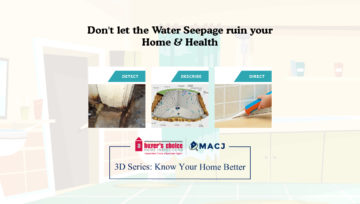 Don't let the Water Seepage ruin your Home & Health