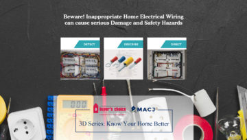 Beware! Inappropriate Home Electrical Wiring can cause serious Damage and Safety Hazards