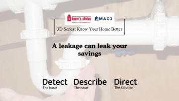 A leakage can leak your savings