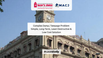 Complex Damp / Seepage Problem - Simple, Long Term, Least Destructive & Low Cost Solution