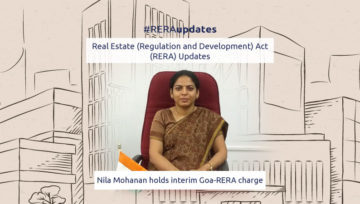 Nila Mohanan holds interim Goa-RERA charge