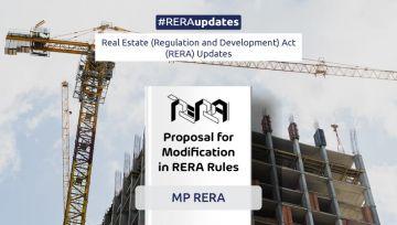 Madhya Pradesh RERA proposes modification in rules
