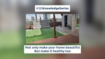 Not only make your home beautiful But make it healthy too