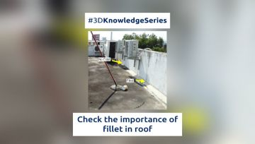 Check the importance of fillet in roof