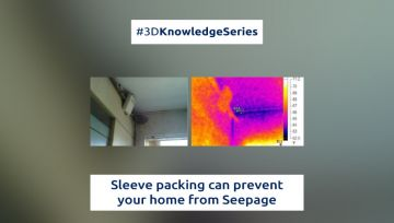 Sleeve packing can prevent your home from Seepage