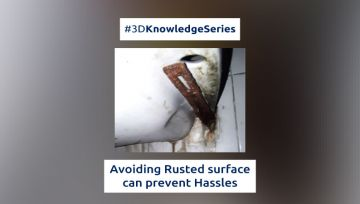 Avoiding Rusted surface can prevent Hassles