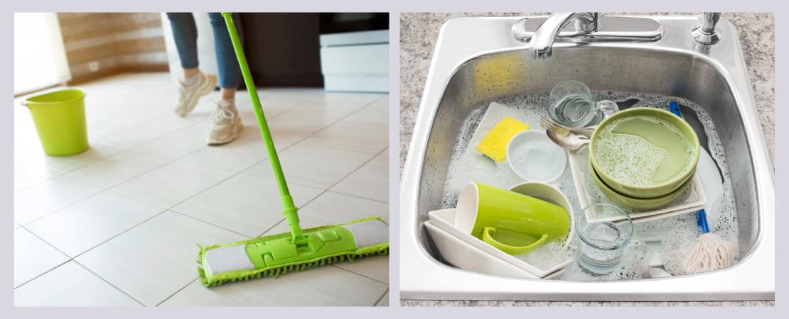 Use of RO reject water for Floor mopping and soaking utensils will save lots of clean water.