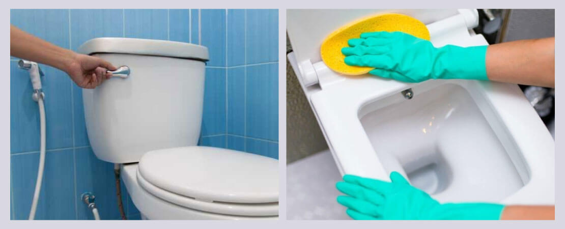 Make use of RO waste water for toilet flushing & cleaning toilets.
