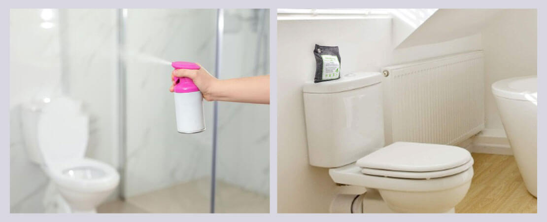 Air fresheners and activated charcoal are an effective way that help in removing bad odour from bathroom.