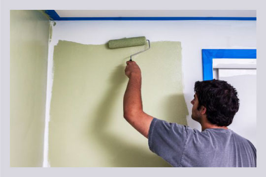 Painting your bathroom after damp removal can be really effective in doing way with bad odour.