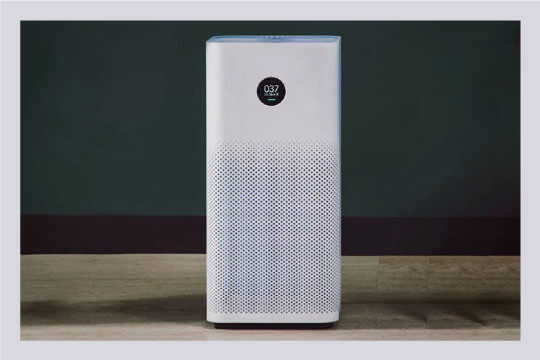 Use air purifier to remove foul odour from bathroom.