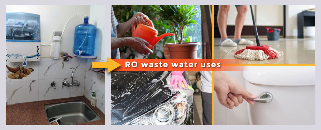 RO waste water uses - 6 simple ways to utilize it