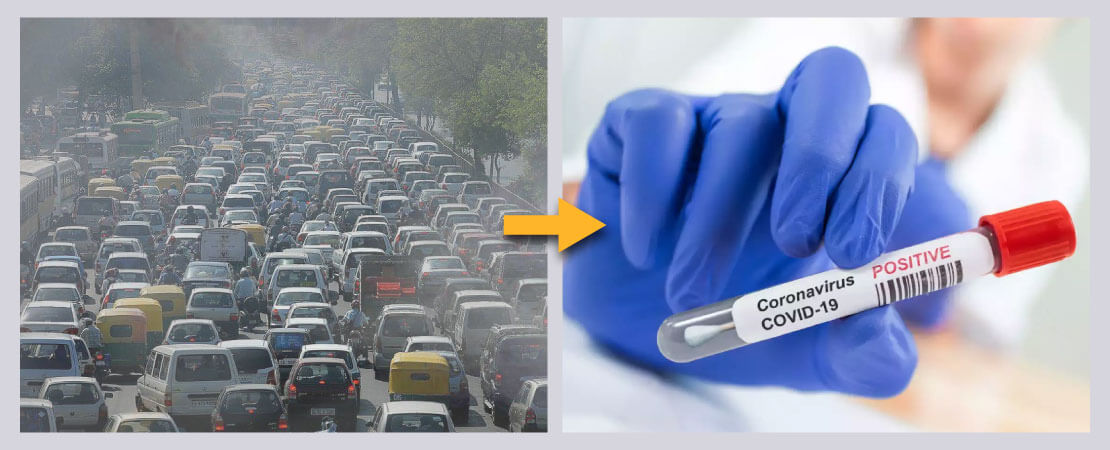 Long term exposure to air pollution makes a person more susceptible to covid-19.
