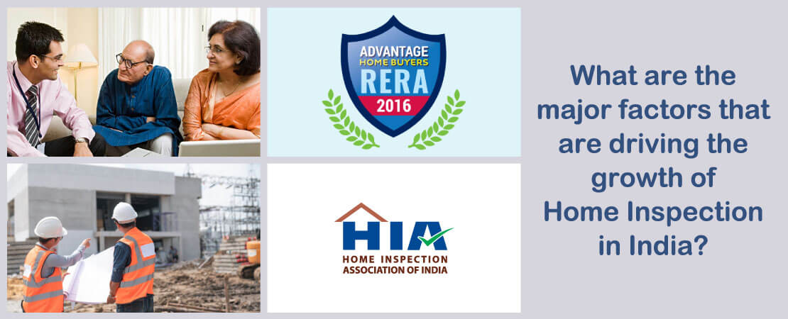 Know about the major factors that are driving the growth of Home Inspection in India.