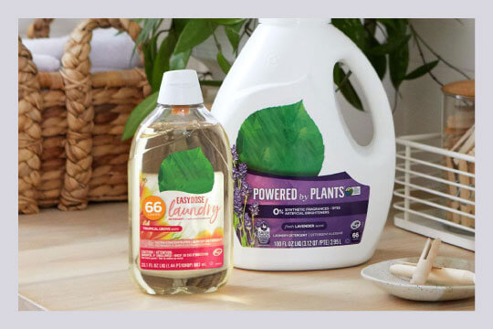 Use natural cleansing products to ensure an eco-friendly home.