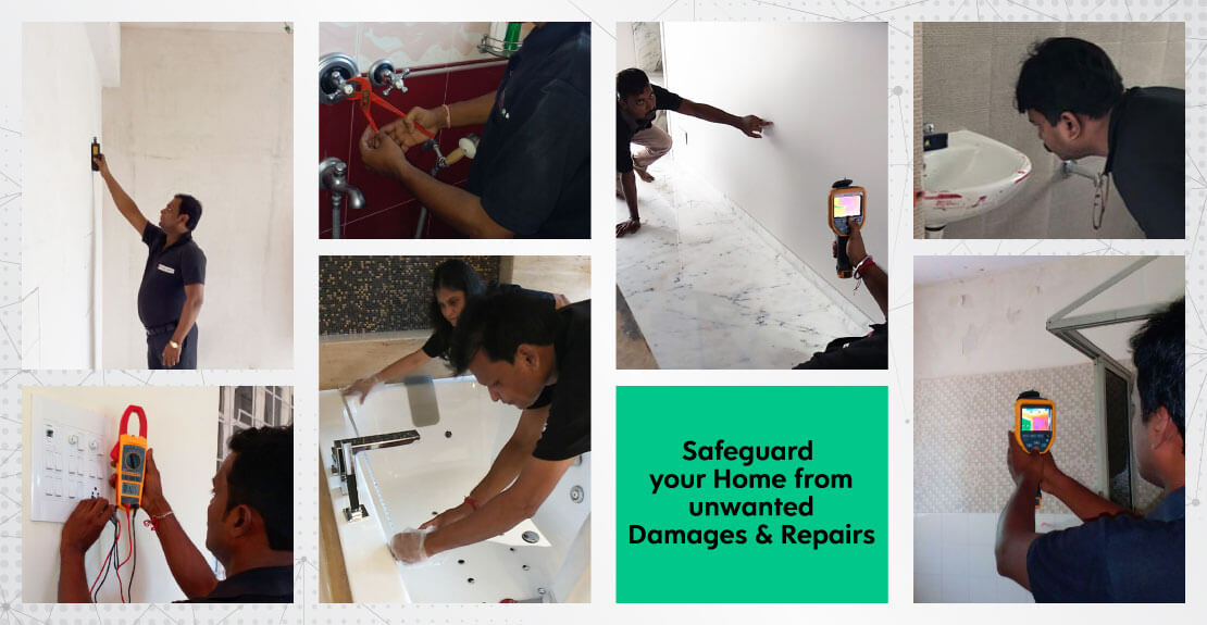 With the help of home inspection service, safeguard your from unwanted damages & repairs