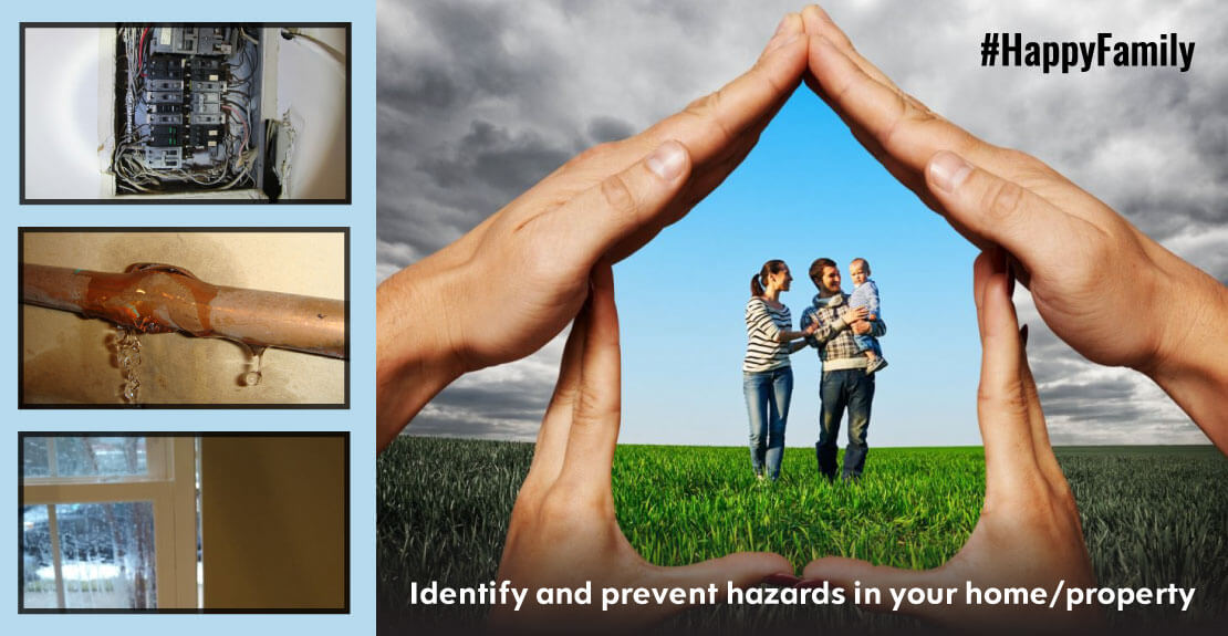 Home is supposed to be where you & your family are safe & protected. Identify & prevent hazards in your home.