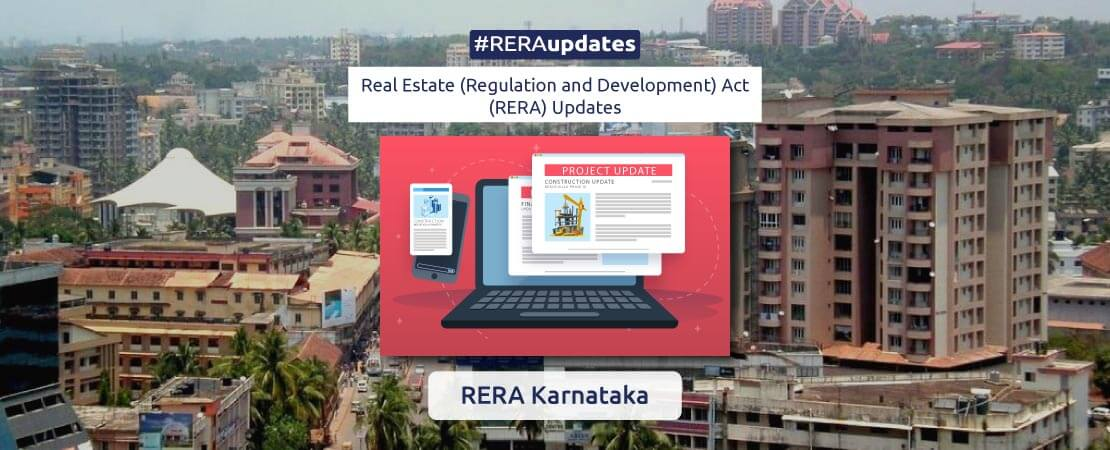 RERA Karnataka has warned promoters to immediately put up quarterly updates on its website, failing which they would be penalized.