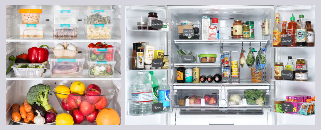 First tip is to Keep your fridge organised.