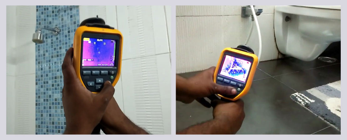 Moisture assessment can be done in a better way with help of advanced thermal imaging technology.