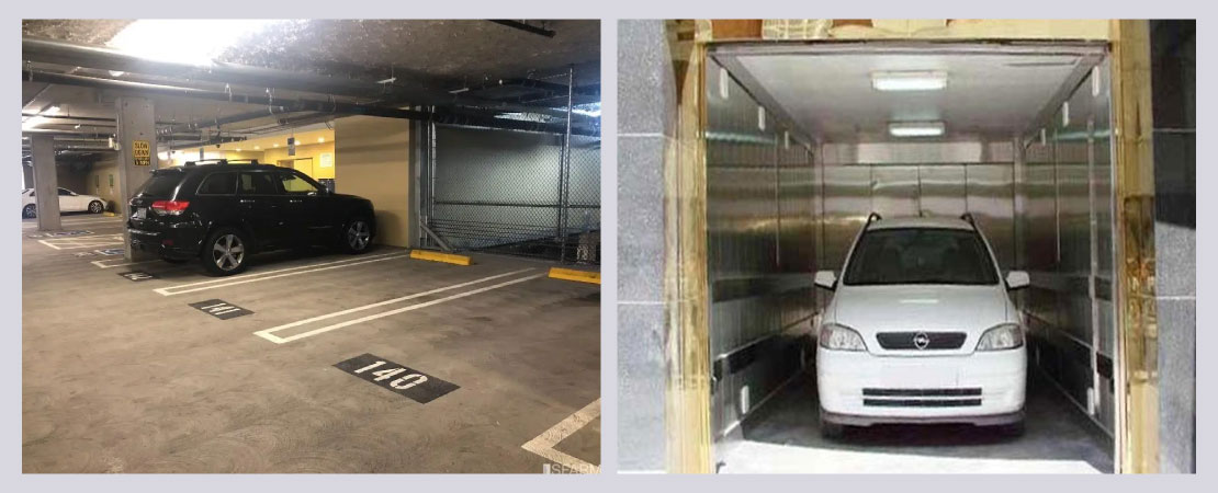 Buyers should look for a proper parking area and space inside the house.