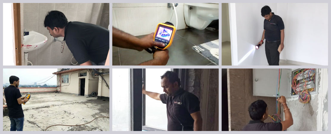Home Inspection is not one thing – it is a group of tasks. Home Inspectors look for various issues in all elements of home.
