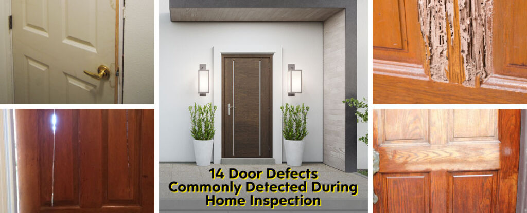 Strong and durable doors are characteristics of a well-maintained property. To extend their lifespan, look for the door defects mentioned in the article.