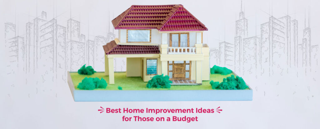 Home improvement doesn't always have to be a costly affair. Here we have listed down some creative ideas for those who are on a low budget.