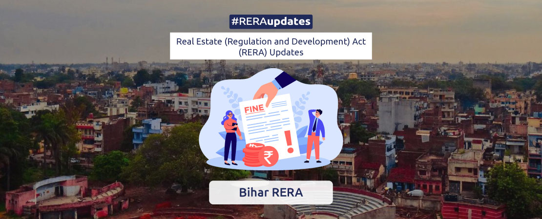 The Bihar Real Estate Regulatory Authority has taken strong action against three private developers for violating RERA norms.