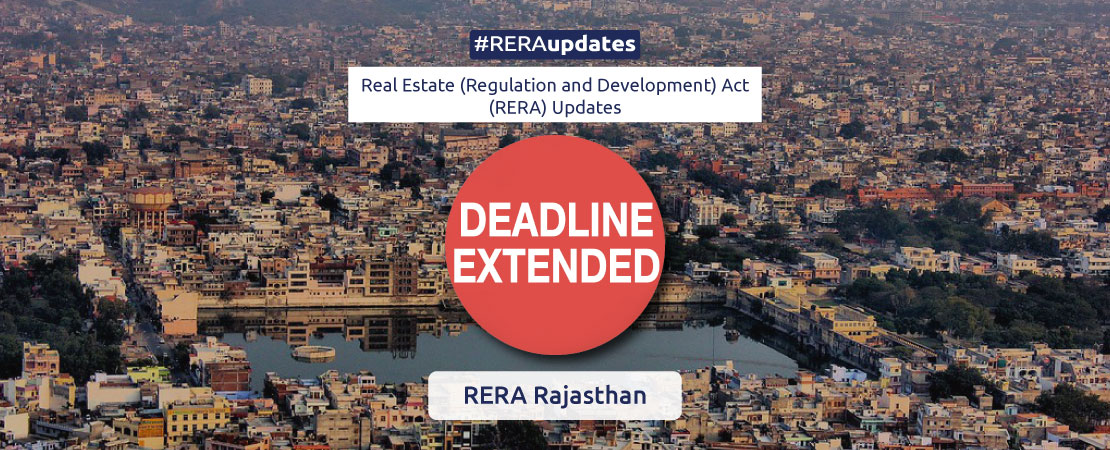 With the second Covid wave derailing the real estate industries again this year, many developers in the state have availed one year special extension from RERA, Rajasthan.
