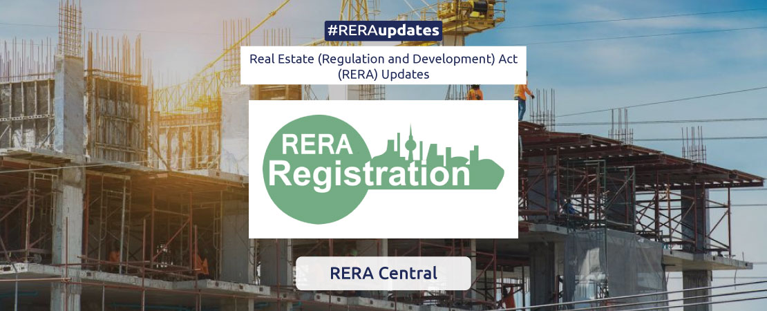 Since the enactment of real estate regulation law, RERA, and establishment of regulatory authorities across states, a total of 67313 projects have been registered in the country, 46% of them in Maharashtra alone.